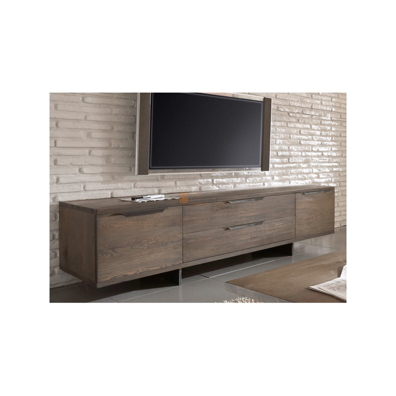 tv bank eiche eine tvbank in dunkler eiche full size of. Black Bedroom Furniture Sets. Home Design Ideas