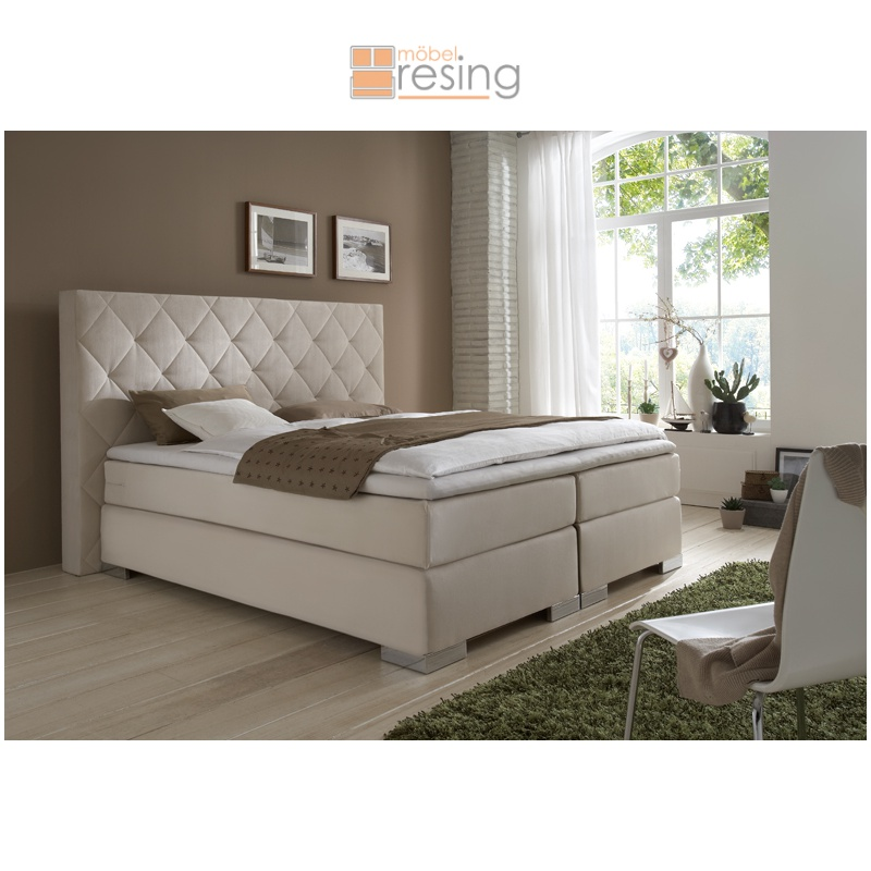 box spring bett boxspring bett breckle online kaufen otto boxspring bett breckle online. Black Bedroom Furniture Sets. Home Design Ideas