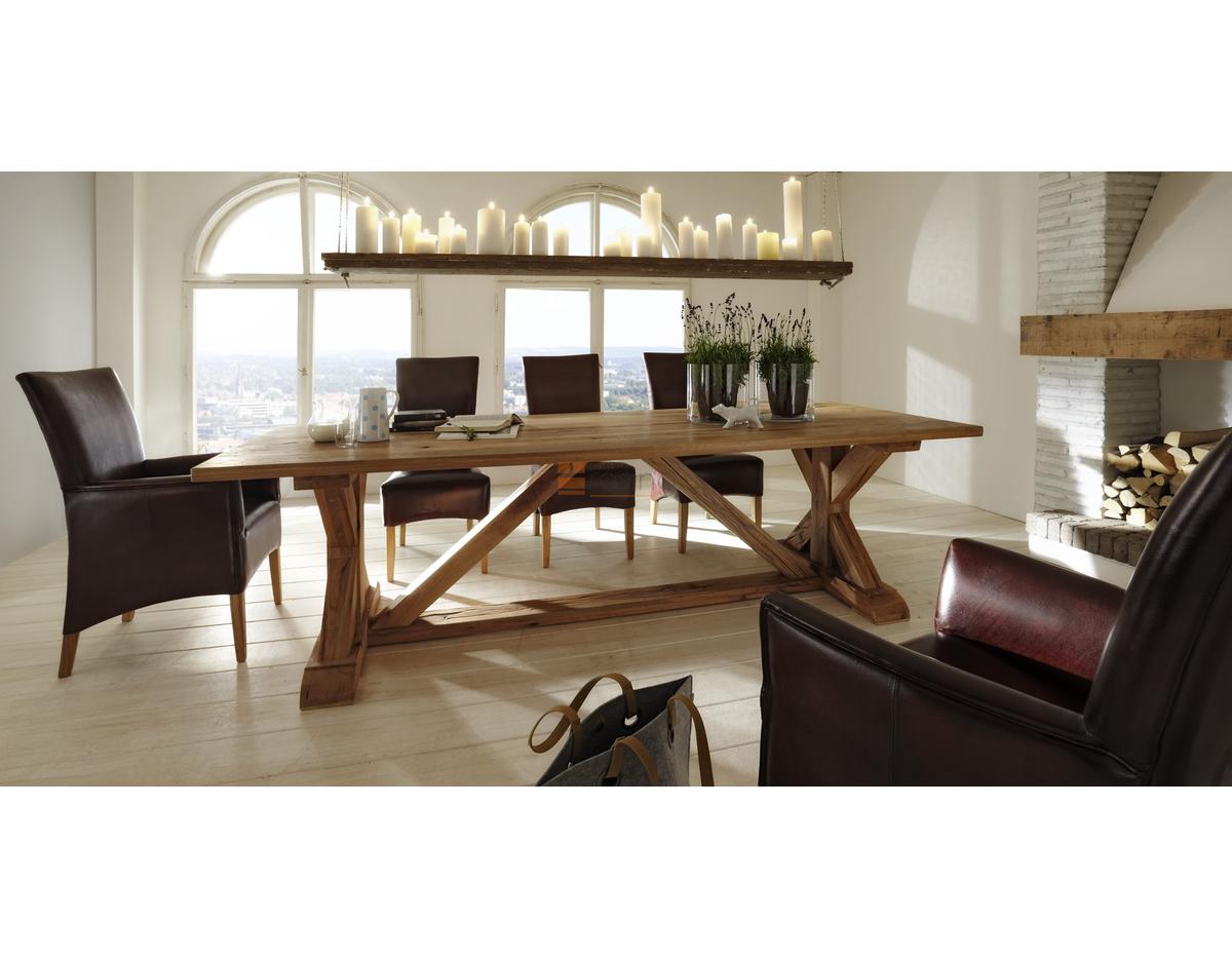 bodahl versailles esstisch in massiver balkeneiche. Black Bedroom Furniture Sets. Home Design Ideas