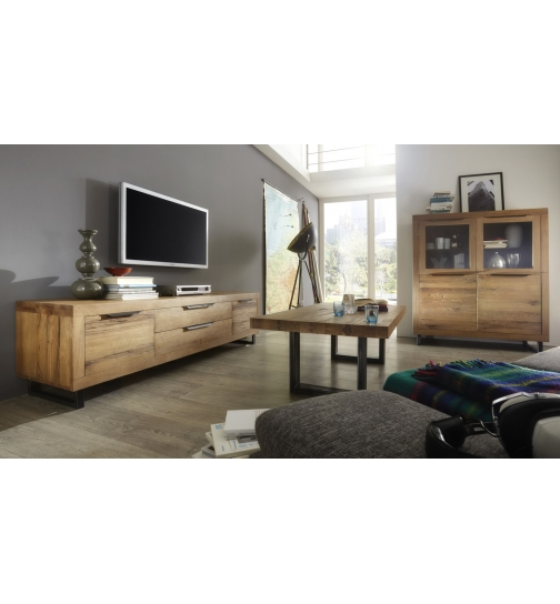 Bodahl Manhattan Highboard in massiver Balkeneiche