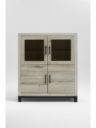 Bodahl Valentino Highboard in massiver Balkeneiche