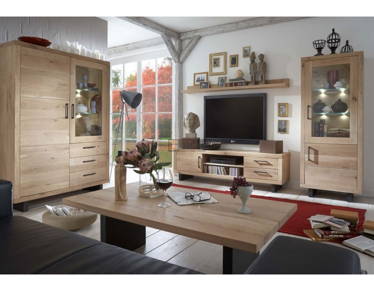 bodahl woodstock tv bank in europ ischer wildeiche 997 00. Black Bedroom Furniture Sets. Home Design Ideas