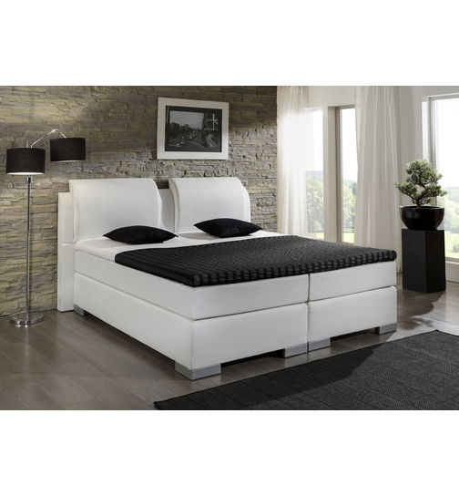 box spring bett excellent espevr boxspring mit beinen dunkelgrau lnge cm breite with box spring. Black Bedroom Furniture Sets. Home Design Ideas