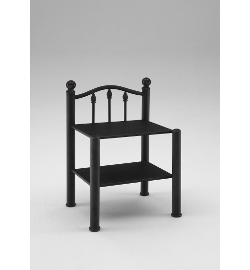 nachttisch metall silber stunning interesting awesome z nachttisch jonny with nachttisch metall. Black Bedroom Furniture Sets. Home Design Ideas